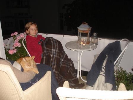 Zen på altanen